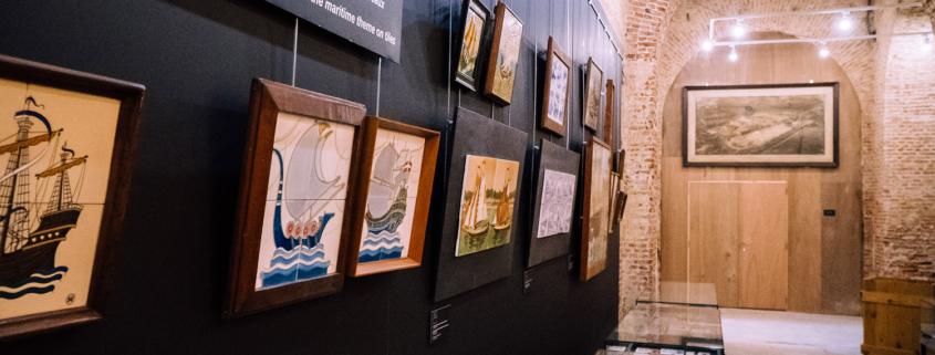 """""""Goede Vaart!"""" - een tentoonstelling over tegels in het maritieme thema"""