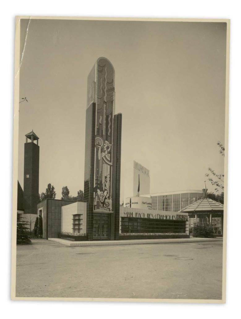 Paviljoen Gilliot Wereldtentoonstelling Brussel 1935